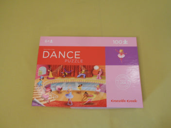 Puzzle Dance, 100pcs, +6a, Crocodile Creek