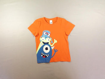 T-shirt m.c orange monstres