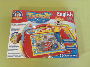 NEUF Sous blister Teddy Quiz English, 5-7a, Sapientino