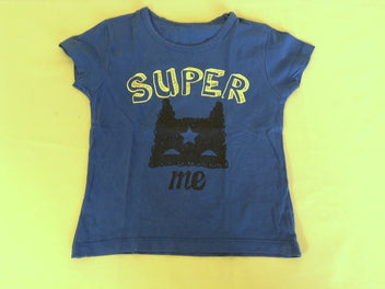 T-shirt m.c bleu Super me