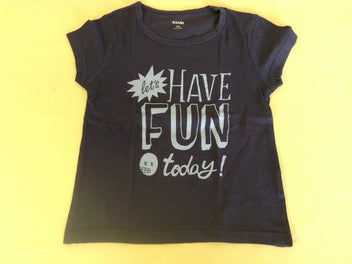 T-shirt m.c bleu marine Have fun