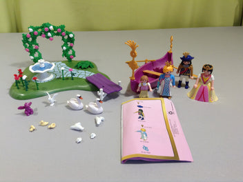 Playmobil 5456 Princess - Ilot Des Princesses Et Gondole