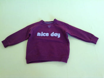 Sweat bordeaux Nice day