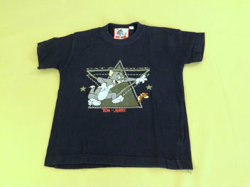 T-shirt m.c bleu marine Tom & Jerry