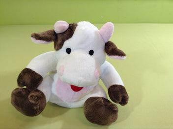 Cherry Belly, peluche vache bouillotte