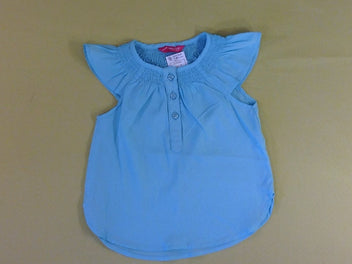 Blouse m.c turquoise