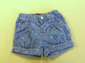 Short denim étoiles
