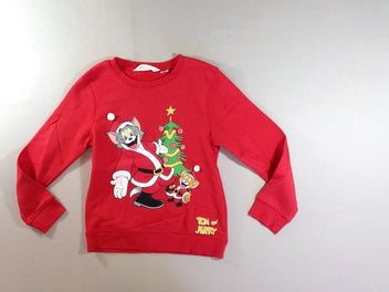 Sweat rouge Tom & Jerry