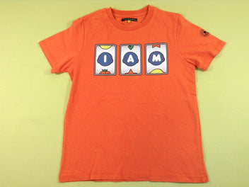 T-shirt m.c orange I AM