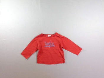 T-shirt m.l orange Little crapule