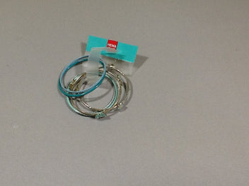 Lot bracelet metal bleu