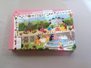 Puzzle d'observation Garden Party, 100 pcs
