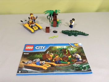 Ensemble de démarrage de la jungle - LEGO City - 60157
