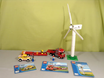 Wind Tur bine Transport, LEGO® City 7747