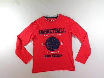 T-shirt m.l rouge Basketball