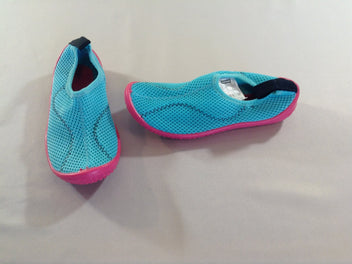 Chaussures d'eau turquoise/rose