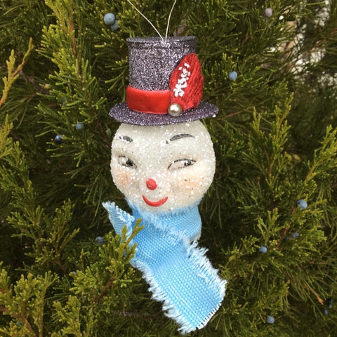 Snow Gent Christmas Ornament
