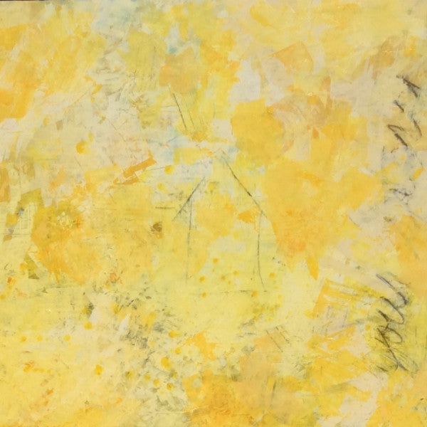 Yellow Abstract painting on Raised Panel – Voss Art & HomeYellow Abstract Painting