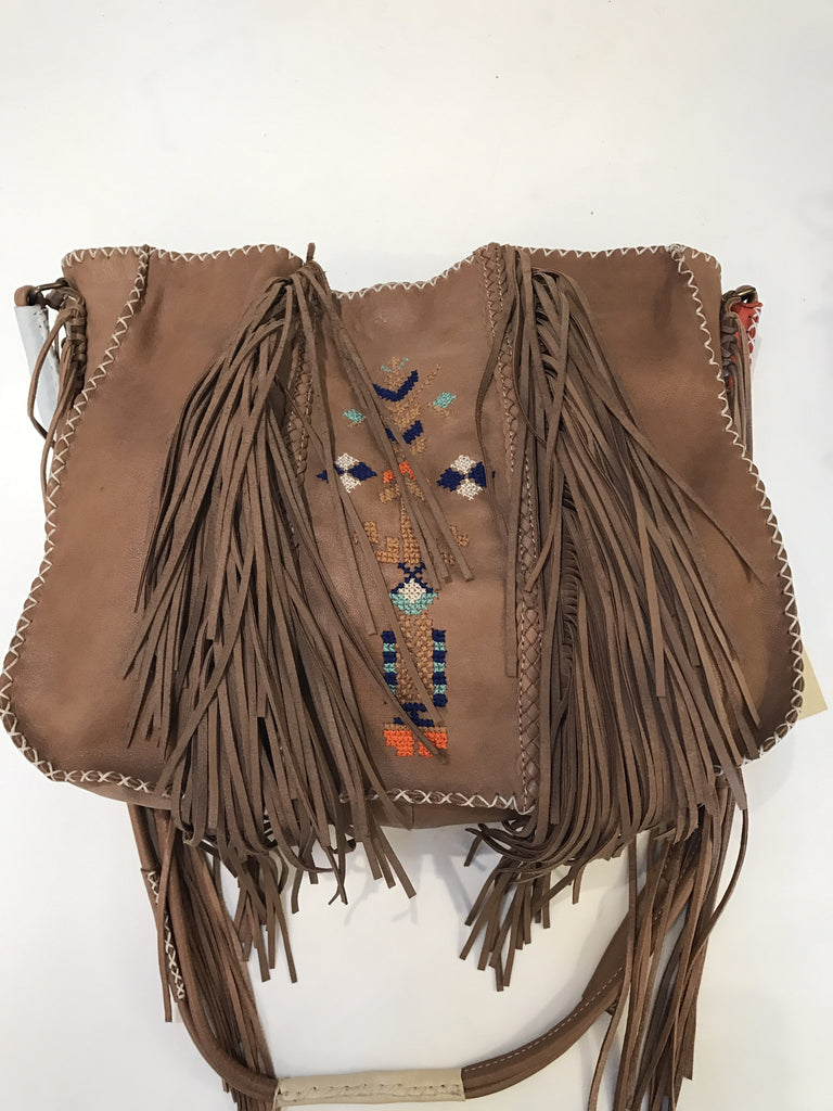 Embroidered Fringe