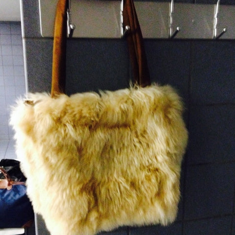 Alpaca Long Hair Tote Bag
