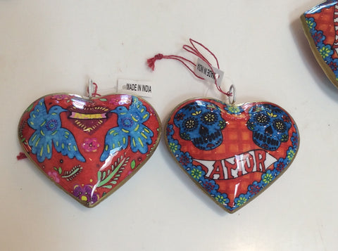 Amor Heart Ornament