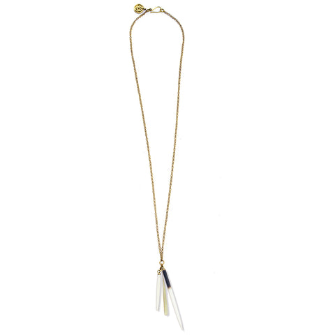 Quill Charm Necklace