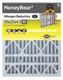 "20x25x4.5 ""H"" HoneyBear® MERV 8 Allergen Reduction Air Filter (Pack of 2)"