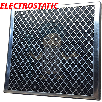 16x25x1 Lifetime Electrostatic Air Filter with Gasket - Filter-Guru