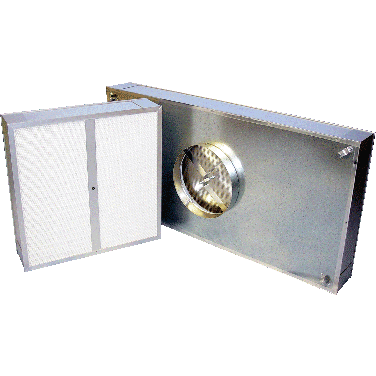 Micro-Pure TM99 Disposable Cleanroom Terminal HEPA Filter
