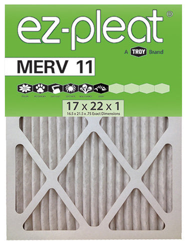 MERV 11 Fan Coil Air Filter 17x22x1 for Bryant/Carrier