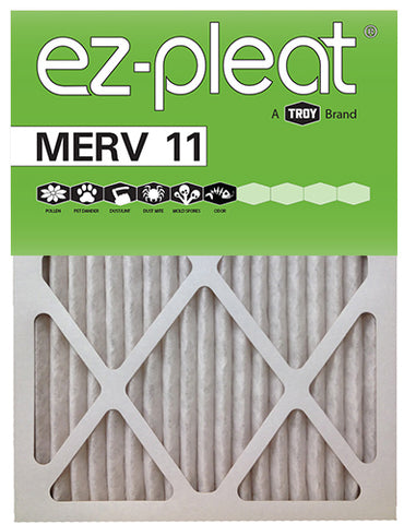 16x25x1 EZ-Pleat MERV 11 Micro Allergen Reduction Air Filter (6-Pack)