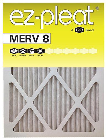 14x14x1 EZ-Pleat MERV 8 Allergen Reduction Air Filter (6-Pack)