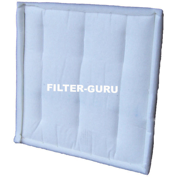 Viledon r1 intake panel filters for paint booths filter guru for Paint booth intake filters 20x20