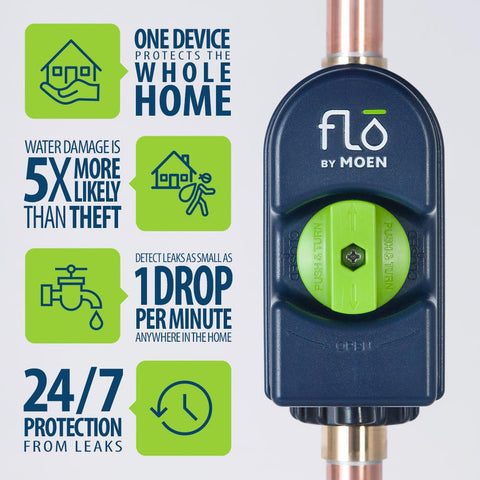 Flo by Moen Leak Detection and Smart Home Monitoring System