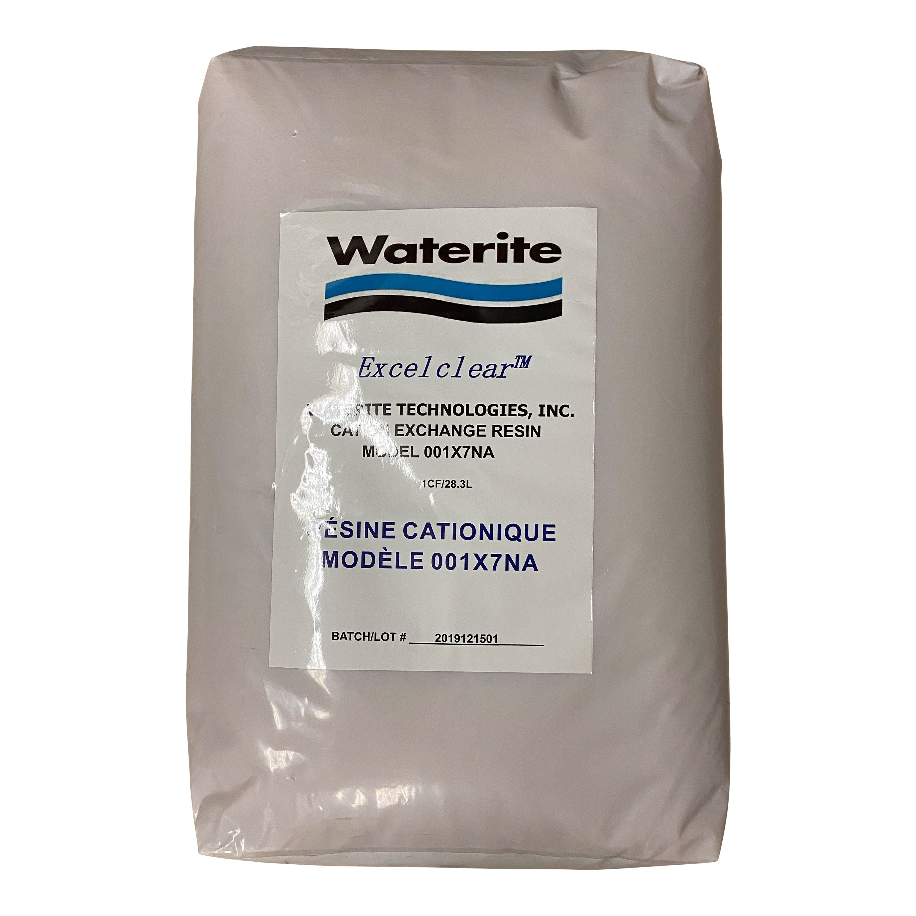 Excelclear Premium Grade Water Softener Media - 1 cubic foot