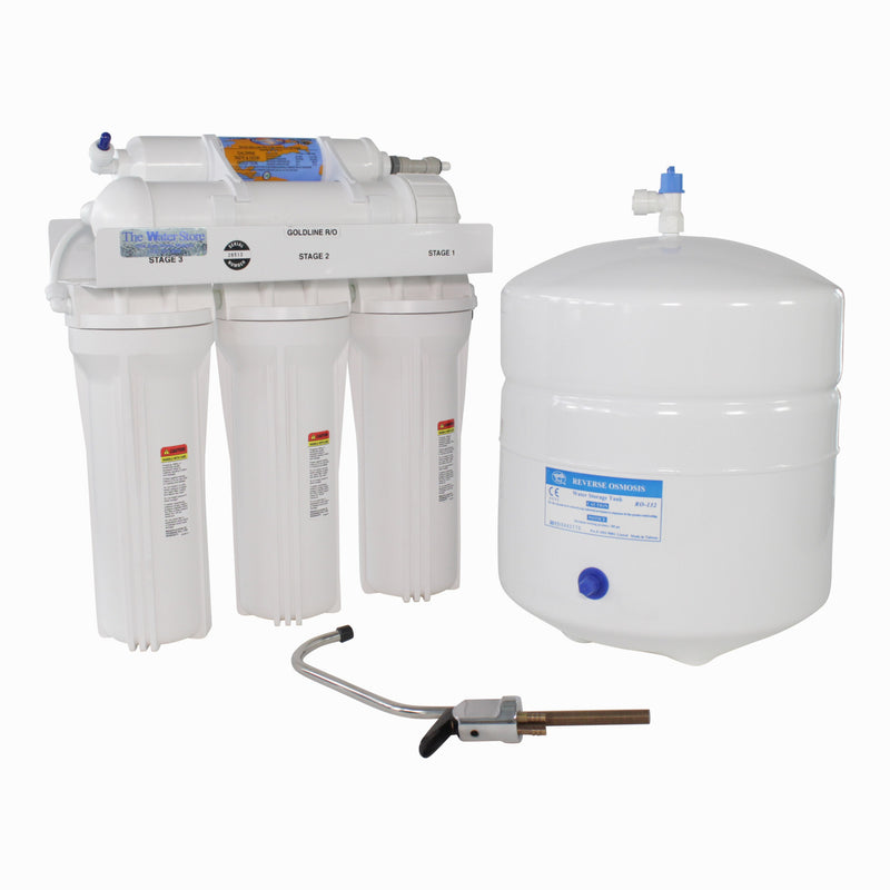 Goldline Reverse Osmosis System with 50 Gallons Per Day