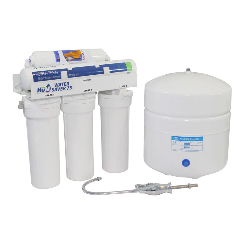 HUM Water Saver 75 Reverse Osmosis Chloramine Reduction