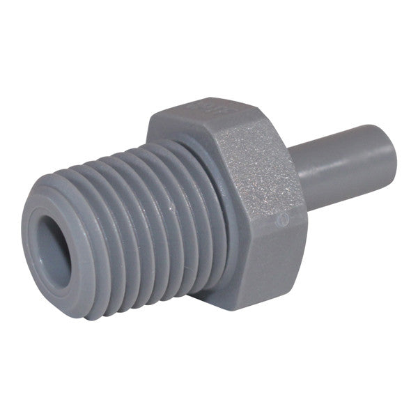 "John Guest Stem Adapter 1/4"" #PI050822S Free Shipping"