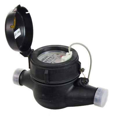 "Stenner Plastic Water Meter 3/4"" 4PPG"