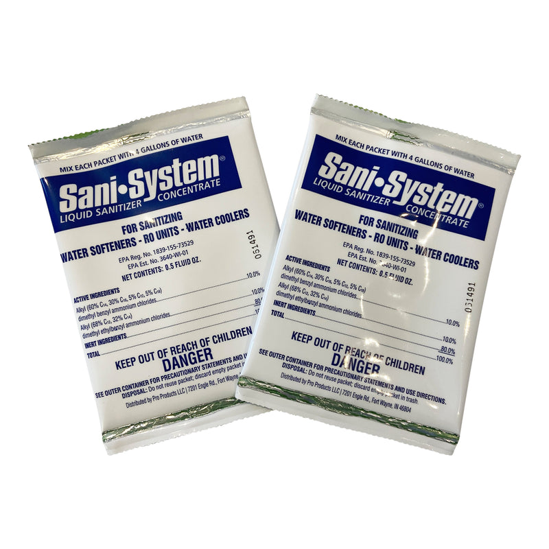 Pro Products Sani System Water Softener Disinfectant 2 Pack