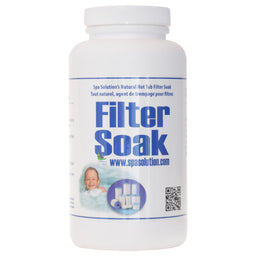 Spa Solution Hot Tub Filter Soak Free Ship