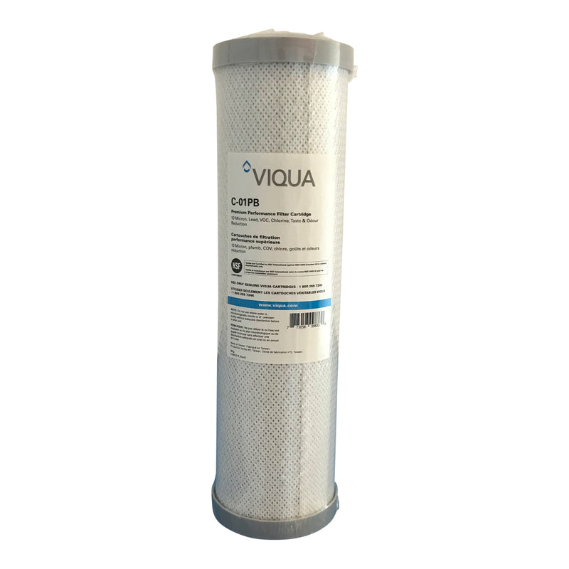 "Viqua 10"", CARBON/LEAD pre filter for 10"" VT1-DWS"