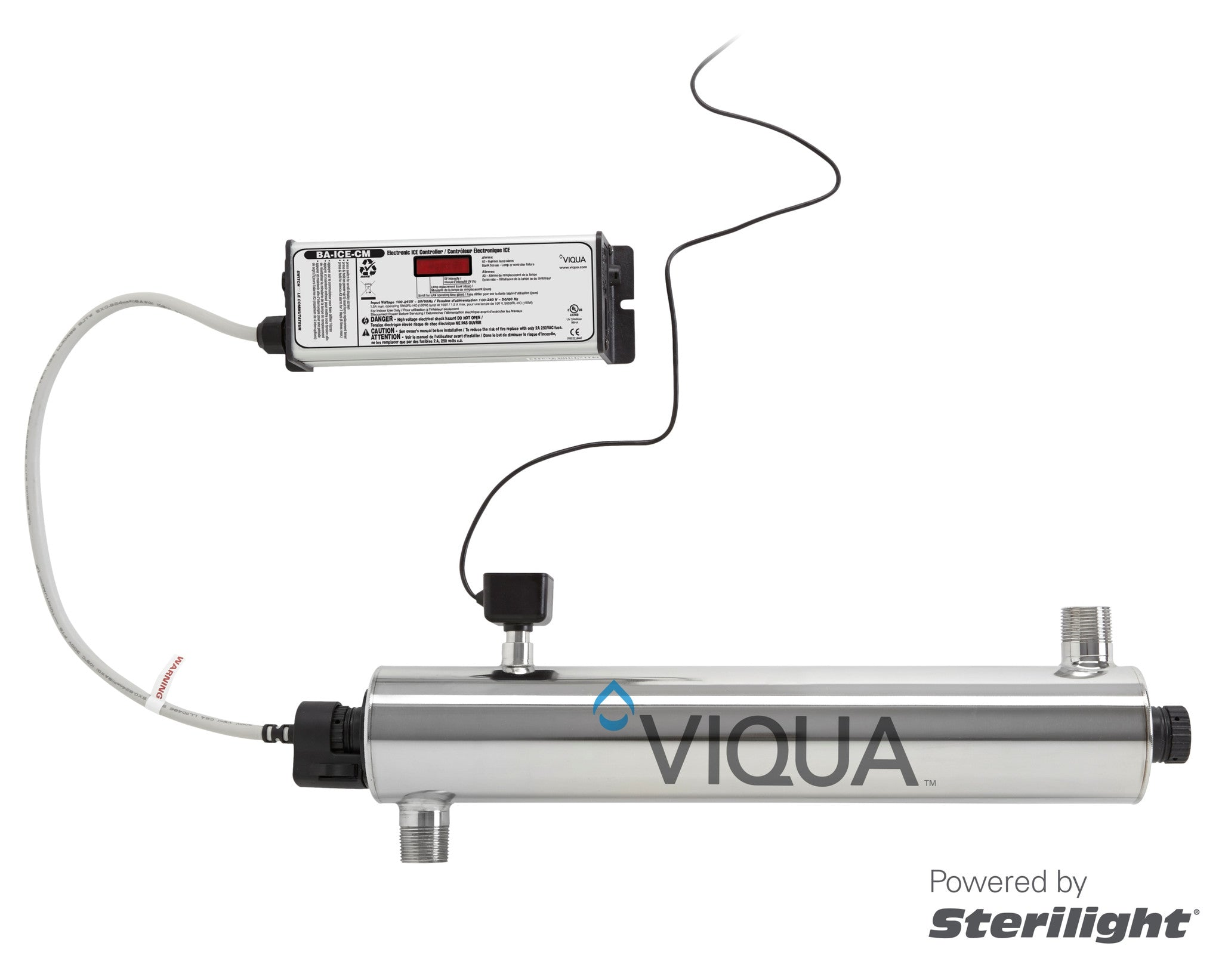 Viqua 18 GPM Monitored UV System Part #VH410M