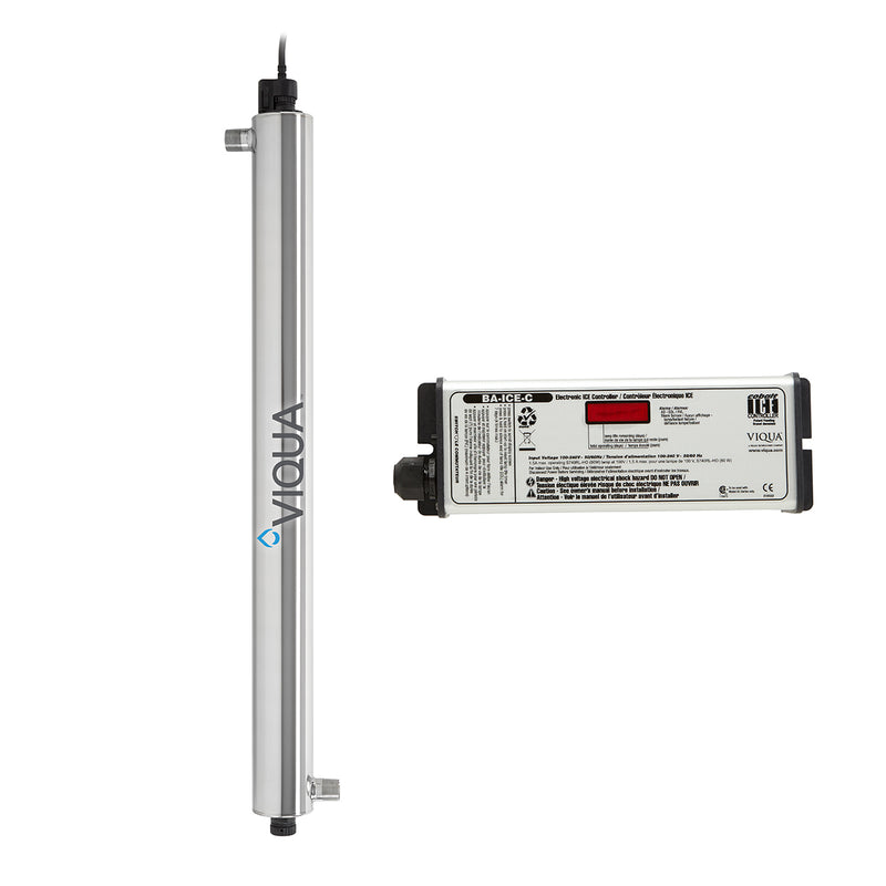 Viqua 34 GPM Ultraviolet Water Filter System Part #VP950M