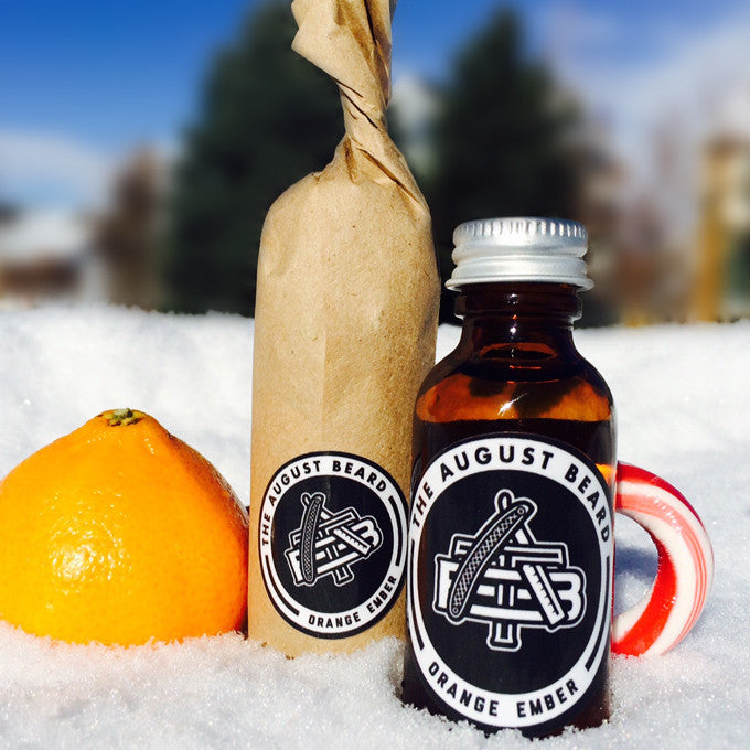 Orange Ember Beard Oil