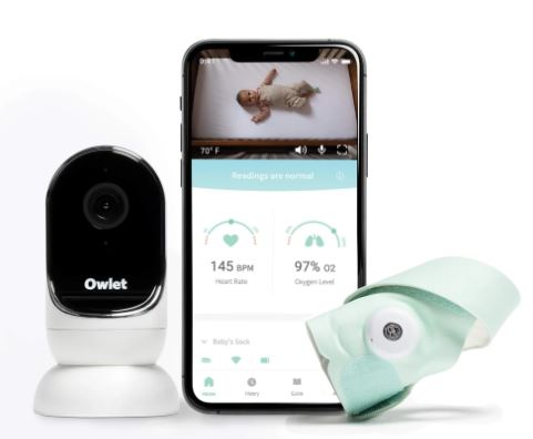 Owlet Monitor Duo Gen 3: Smart Sock 3 + Cam