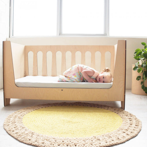 ErgoPouch Bamboo Stretch Crib to Single Sheet - White EP121