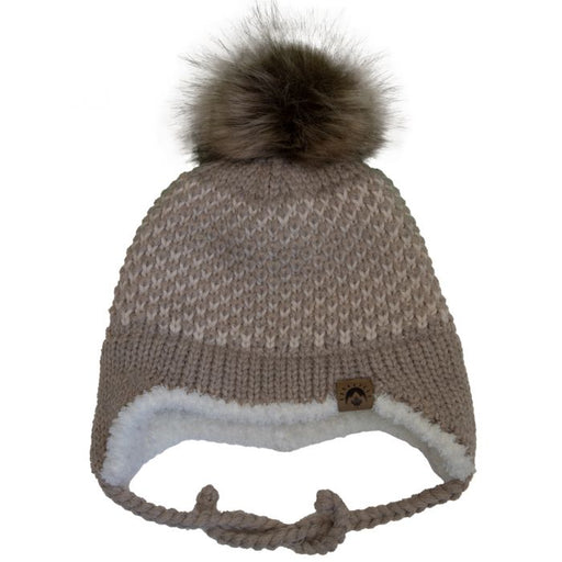Calikids Knit Winter Hat - Taupe W2010