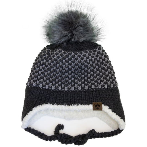Calikids Knit Winter Hat - Charcoal W2010