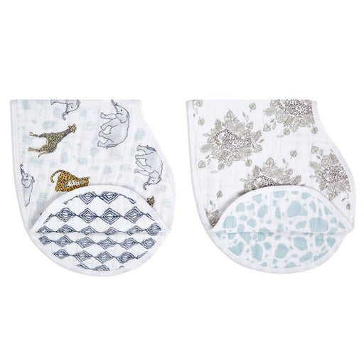 Aden + Anais Classic Burpy Bibs 2packs - Jungle ABBC20003